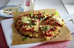 Unser beliebtes Rezept für Blumenkohlpizza mit Tomate und Mozzarella und mehr als 55.000 weitere kostenlose Rezepte auf LECKER.de.