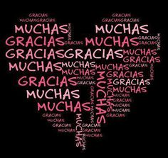 Muchas gracias, SEÑOR ,, <3 .. Thank You, LORD!