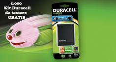 Testa gratis batterie ricaricabili Duracell - http://www.omaggiomania.com/testare-prodotti-gratis/testa-gratis-batterie-ricaricabili-duracell/