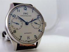 IWC Portuguese Automatic 7 Days Ref.5001-07 #IWC #LuxuryDressStyles