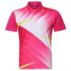 Mens Badminton Table Tennis Competitions Training Suit Sports Tops at Banggood Hipster Outfits Men, Sports Jersey Design, Athleisure Outfits, Sport T Shirt, Sport Wear, Cheap T Shirts, Competition, Tennis, Sports Tops