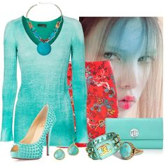 """""""blue.and.red"""" by twosisterzcreationz on Polyvore"""