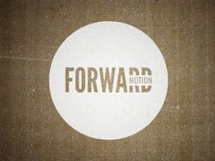font within font; how about a circle like this in black or burnt orange vinyl for the Fellowship group wall?