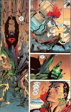 scans_daily   Batman:Hush - Batman vs. Superman green latern