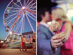 A Fun County Fair Engagement Session - Every Last Detail
