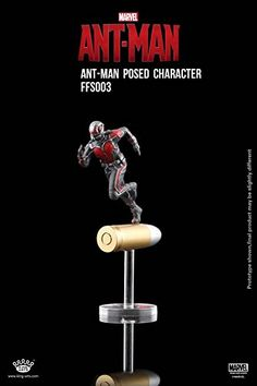 King Arts Marvel's Ant Man Posed Character 6.5cm Tall