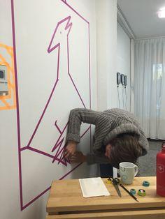 Die 52 Besten Bilder Auf Washi Wall Art Washi Cologne Und Duct Tape