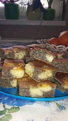 bögrés mákos pudingos Hungarian Desserts, Hungarian Recipes, Sweet Recipes, Cake Recipes, Dessert Recipes, Salty Snacks, Sweet Pastries, Sweet And Salty, International Recipes