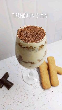 Delicious Desserts, Dessert Recipes, Yummy Food, Comida Diy, Tiramisu, Deli Food, Aesthetic Food, Love Food, Sweet Recipes