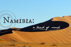 Namibia: A Land of Sand - via The Wandering Soles Round The World Trip, World Traveler, Us Travel, Cool Photos, How To Plan