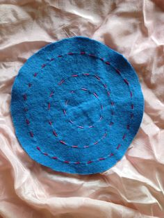 Concentric circles  3 rd grade embroidery