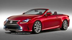2015 Lexus RC Convertible....in white, please and thank you.