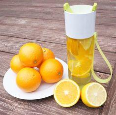 rosti mapel justwater drinkfles citrus infused water
