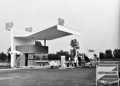 AGIP gas stations: art on the road | Italian Ways