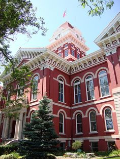 """Old Lake County Courthouse,  Crown Point, IN.  The """"Grand Old Lady.""""  God Bless Indiana."""