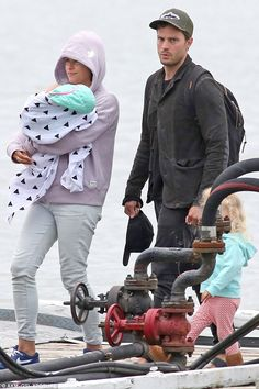 Family of four:Jamie and Amelia have not revealed the name of their new…