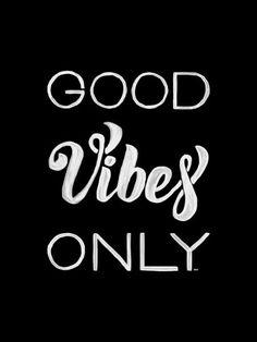 Good Vibes Only - On The Wall | Crie seu quadro com essa imagem…