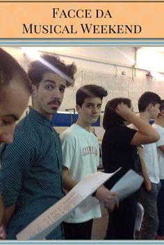 I ragazzi di Musical Weekend di Roma. Facce da Musical!!  #ViviLaTuaPassione #musicalweekend #scuoladimusical #coreografia