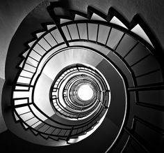The spiral staircase / La escalera de caracol by Alsal Photography, via Flickr