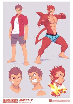 Male: Monkey/ Taijutsu Master