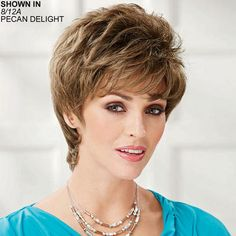 Daisy WhisperLite Wig by Paula Young is a short shag cut. - Paula Young