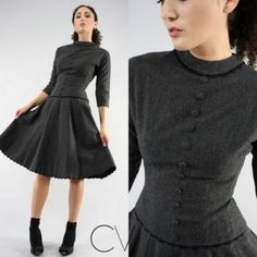 Oooo, this wool dress is gorgeous.