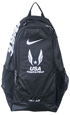 nike usa track & field max air bags | Designed to take on bigger loads, the Nike USATF Max Air Team Training ...
