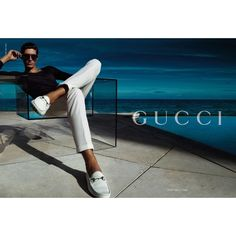 Gucci Ad Campaign Spring/Summer 2010 Shot #31 ❤ liked on Polyvore