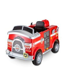 Paw Patrol Fire Truck 6 Volt powered Ride On Toy by Kid Trax, Marshall rescue, Red 3 Year Old Christmas Gifts, Christmas Toys, Toy Trucks, Fire Trucks, Educational Christmas Gifts, Toddler Boy Gifts, Toddler Toys, Paw Patrol Toys, 3 Year Old Boy