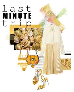 """in Gold Color"" by romihi ❤ liked on Polyvore featuring EASTON"