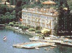 Villa D'Este on Lake Como, near George Clooney's house