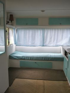 Vintage Caravan Reveal - before pix on my blog