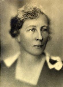 """Lillian Evelyn Moller Gilbreth, an American psychologist and industrial engineer. One of the first working female engineers holding a Ph.D. She and her husband were efficiency experts who contributed to the study of industrial engineering in motion study and ergonomics. """"Cheaper by the Dozen"""" and """"Belles on Their Toes"""" (by 2 of children.) tell of their family life with their twelve children."""