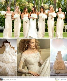 Ivory Weddings.. Beautiful cake