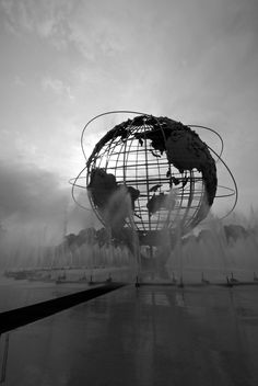 1964 New York World's Fair Globe by John Milano