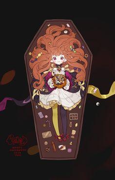 Sugar and spice: Photo Female Character Design, Character Concept, Character Art, Anime Manga, Anime Art, Christmas Drawing, Anime Kunst, Dark Fantasy Art, Cosplay