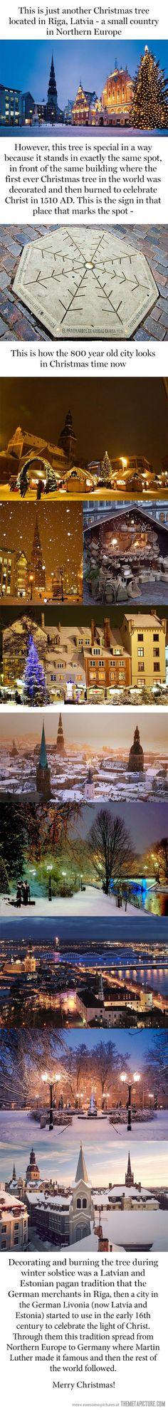 Dónde comenzó la navidad! ~ soy feliz cuando puedo pasar la navidad en países dónde es una verdadera celebración
