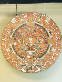 The Aztec sun calendar is a circular stone with pictures representing how the Aztecs measured days, months, and cosmic cycles.    The Stamp Store's Tim Frazier and Dave Handy created this  concrete masterpiece using a Proline Stamp and Rainbow Water-Based Stain.  It's pretty cool.  www.thestampstore.com