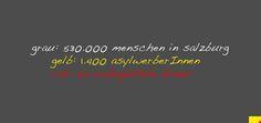 "das ""riesenproblem"" der asylwerberInnen  530000 / 1400 / 65 grafik:bernhard jenny creative commons"