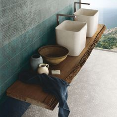 Porcelain #stoneware wall/floor tiles ETRO METAL CELESTE Etro Collection by @unicabytarget #bathroom #design