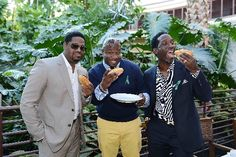 Neon Nights: Vegas club pics - Entertainment / Neon - ReviewJournal.com Boyz II Men grabbed a bite while announcing an extended residency at The Mirage. Photo courtesy Denise Truscello/Wireimage