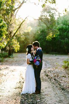 A Bright Bohemian Winery Wedding via @weddingplaybook