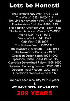 Although we didn't technically join WWI until I had noticed that every generation had seen at least one war. something to think about. Mexican American War, The Spanish American War, American Civil War, American History, American Freedom, American Spirit, History Facts, World History, History Quotes
