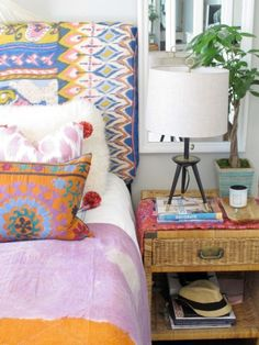 Bohemian, I can't decide if I want to do this or more like the neutral pottery barn/ restoration style.
