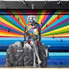 Palm Beach, Florida by Kobra Street Art West Palm Beach, Palm Beach Florida, Miami Florida, South Beach, Miami Beach, Blue Heron, Graffiti, Kobra Street Art, Beach Signs
