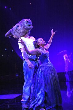 This enchanting image is from the 2008 RSC production of A Midsummer Night's Dream.