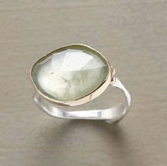 Love the rustic and simple design of this ring!