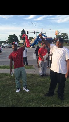 Bloods and Crips uniting. Not what we're talking about