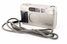 EXC++ Contax T2 35mm Point & Shoot Film Camera w/ Strap from Japan 111287-#142