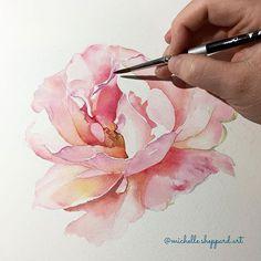 Watercolorist: @michelle.sheppard.art #waterblog #акварель #aquarelle #painting #drawing #art #artist #artwork #painting #illustration #watercolor #aquarela